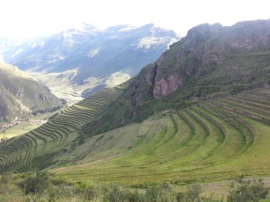 Mountain view from Pisac ruins